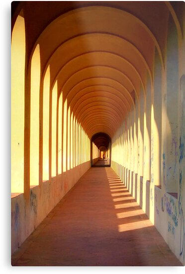 Endless archways by Ursula Rodgers