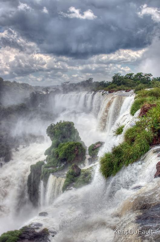Iguazu Falls  #1 by Kent DuFault