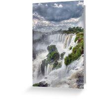 Iguazu Falls  #1 Greeting Card