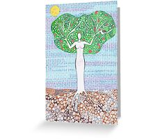 Spring - Goddess Greeting Card