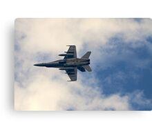 RAAF F-18 Fighter Canvas Print