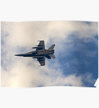 RAAF F-18 Fighter Poster