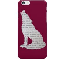 Hogwarts Wolf iPhone Case/Skin