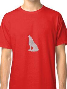 Hogwarts Wolf Classic T-Shirt