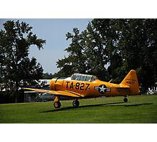 Post War Trainer - T6 Texan Photographic Print