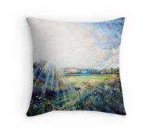 Genesis, A birth of Creation ! Throw Pillow