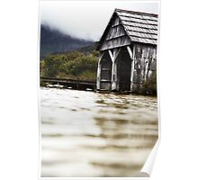 Boat Shed - Dove Lake Poster