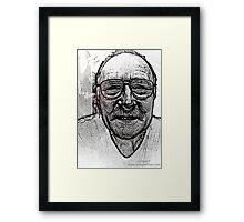 The Smiling Old Man Framed Print