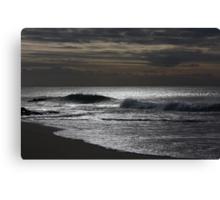 Silver Ocean 8998 Canvas Print