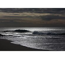 Silver Ocean 8998 Photographic Print