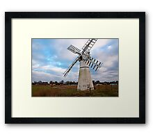Thurne Mill, Norfolk, UK  Framed Print