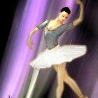 La danseuse de ballet by Angela  Burman