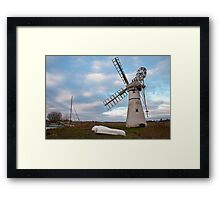 Thurne Mill, Norfolk, UK 3 Framed Print