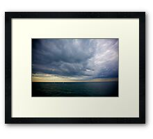 Sail Boats on the English Channel I Framed Print