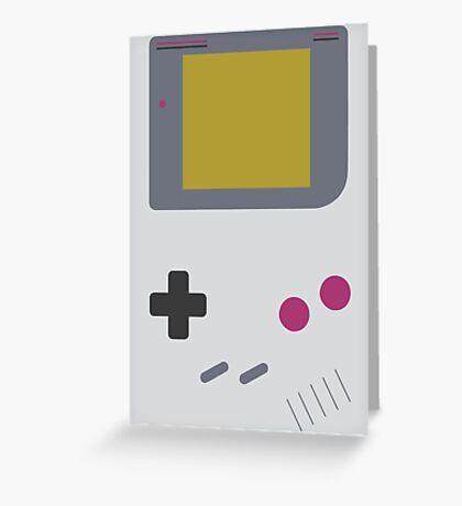 Game Boy shirt (Nintendo Inspired Print) Greeting Card