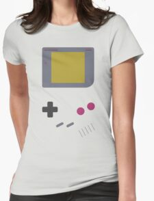 Game Boy shirt (Nintendo Inspired Print) Womens Fitted T-Shirt