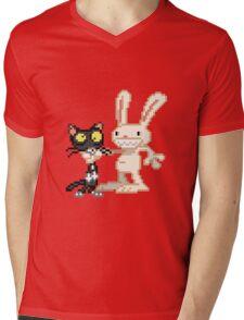 Sam & Max #03 Mens V-Neck T-Shirt