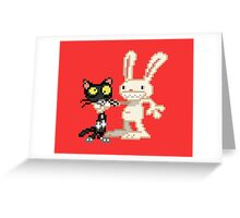 Sam & Max #03 Greeting Card