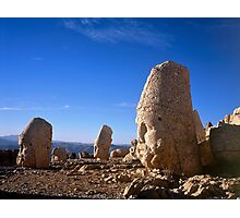 Statues of the Gods at Nemrut Dag Photographic Print
