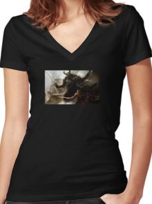 Guild wars 2 Women's Fitted V-Neck T-Shirt