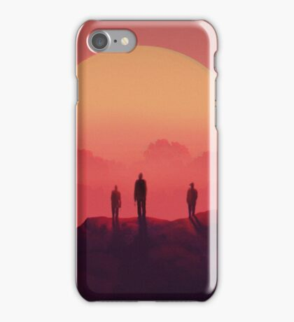 Red Desert Soldiers iPhone Case/Skin