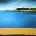 The Haven from Terrigal Beach by Lloyd Foye