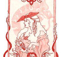 Dragon Heart by redqueenself