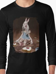 Rabbits Tea Party Long Sleeve T-Shirt