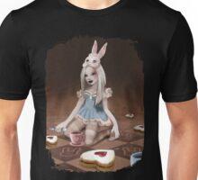 Rabbits Tea Party Unisex T-Shirt