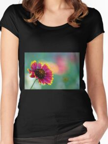 California Blanket Flower Women's Fitted Scoop T-Shirt
