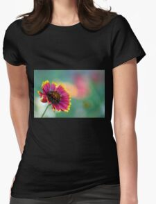 California Blanket Flower Womens Fitted T-Shirt