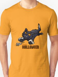 Spooky Animals Cat and Mouse T-Shirt