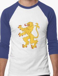 Sheldon's Apartment Flag (The Big Bang Theory) Men's Baseball ¾ T-Shirt