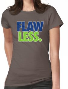 FLAW - LESS Womens Fitted T-Shirt