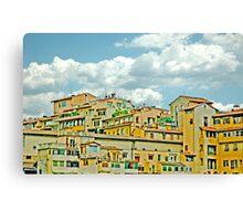 City Center Firenze Italy Canvas Print