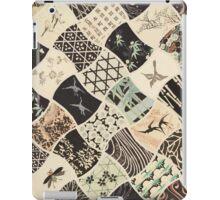 Origami Paper - Black iPad Case/Skin