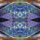 Abstract In Blue by Hugh Fathers