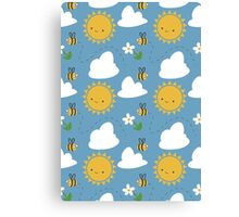 Sunshine and Bees Canvas Print