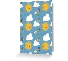 Sunshine and Bees Greeting Card