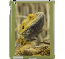 Australian Inland Bearded Dragon Reptile iPad Case/Skin