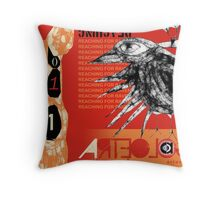 reaching for raven 2 Throw Pillow