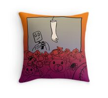 Human Arm Machine Throw Pillow