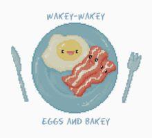 Kawaii Bacon Breakfast - Wakey Wakey Eggs and Bakey by SugarHit