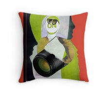 Performance art Throw Pillow
