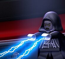 Emperor Lighting Lego Star Wars by sbrosszell