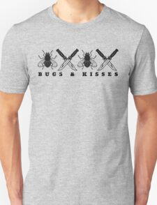 Bugs & Kisses (Prints Black) T-Shirt