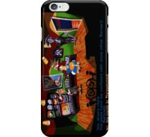 Maniac Mansion - Day of the Tentacle #01 iPhone Case/Skin