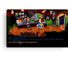 Maniac Mansion - Day of the Tentacle #01 Canvas Print