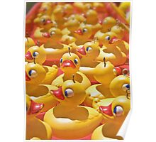 Rubber ducky you're the one - vertical card Poster