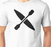 Kayak paddle Unisex T-Shirt